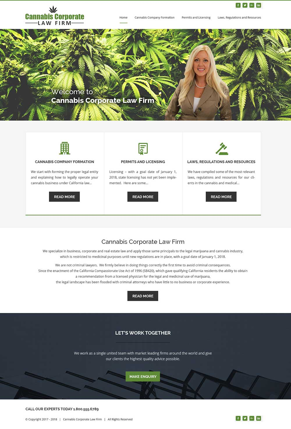Cannabiscorp Law