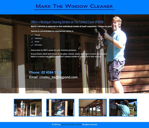 Mark The Window Cleaner